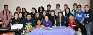 Quiz Bowl participants during Gamma Eta Week